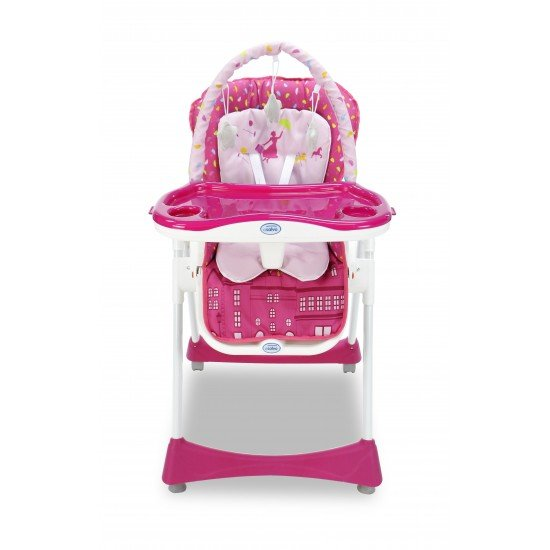 Asalvo Elegant London Pink Evolutionary High Chair