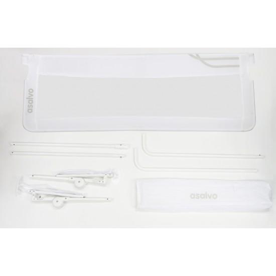 Asalvo Safety Barrier for Multipurpose Bed of 150 cm in white