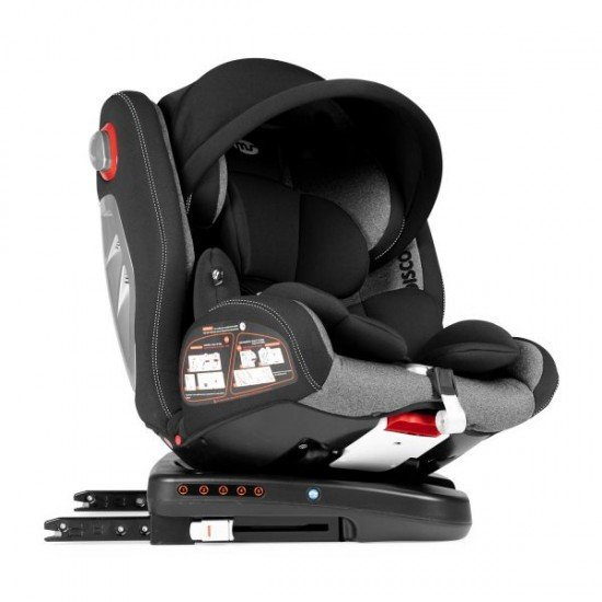 Discover Car Seat Dual 360º Black-Grey