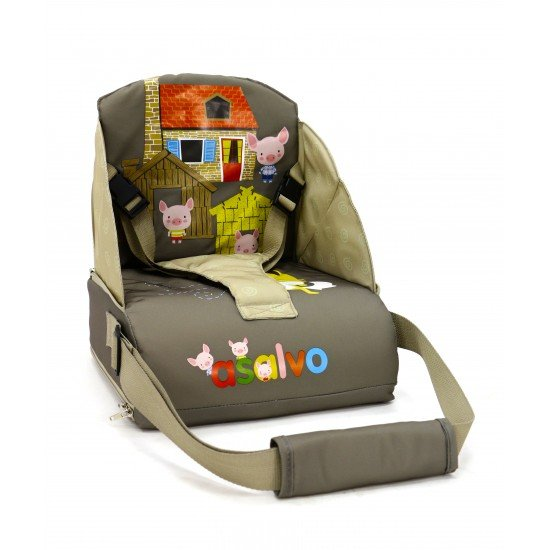 Asalvo Travel Chair Three Little Pigs Beige