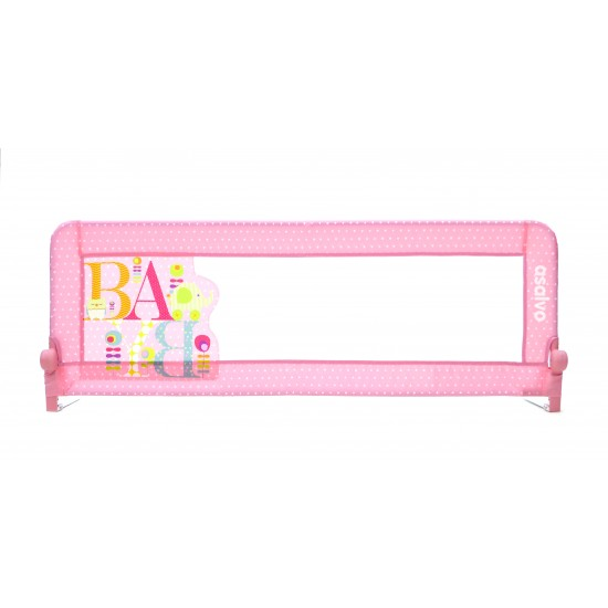 Asalvo 2 in 1 Safety Bed Barrier - Pink