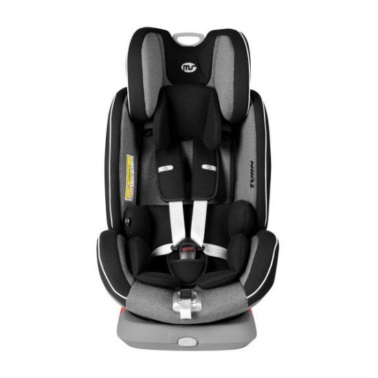Car seat Turn dual 360º Black-Grey