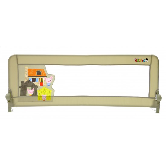 Asalvo Safety Bed  Barrier 2 in 1 - Three Pigs