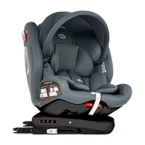 Discover Car Seat Dual 360º Grey