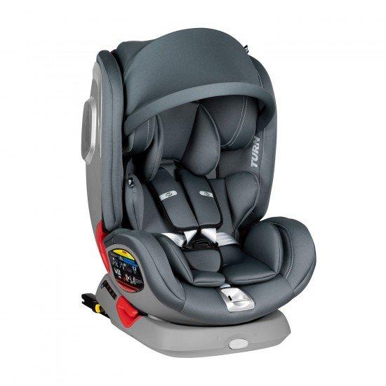Car seat Turn dual 360º Grey