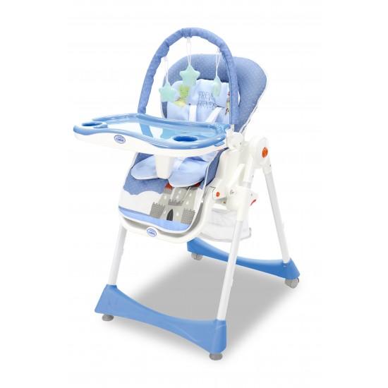 Asalvo Elegant Camelot Blue Evolutionary High Chair