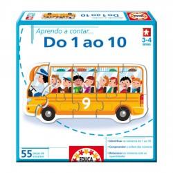 Educa Aprendo A Contar… del 1 al 10