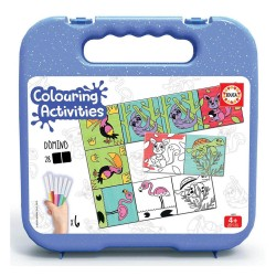 Educa Colouring 18 Dominó Animais