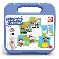 Educa Colouring 18 Identic Contos