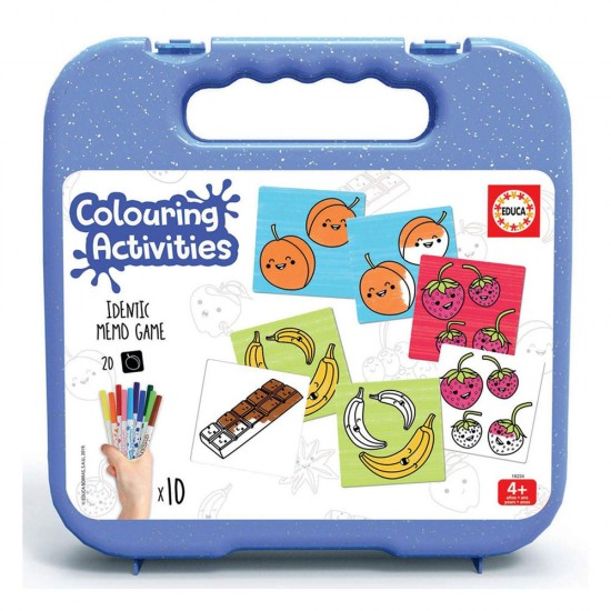 Educa Colouring 18 Identic para Pintar
