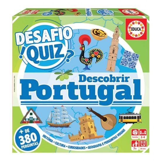Educa Desafio Quiz Descobrir Portugal