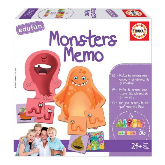 Edufun Monsters Memo
