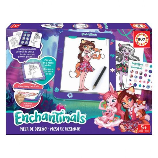 Mesa de Desenho Enchantimals