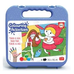 Educa Colouring 20 Capuchinho Vermelho