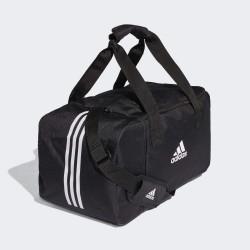 Bolsa de deporte Adidas DQ1075 color negro y blanco Unisex 50 cm
