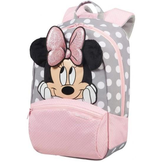 Mochila Disney Minnie 3D Ultimate cor rosa