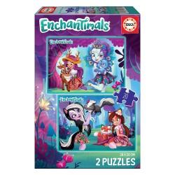 2x Puzzle 20 Enchantimals