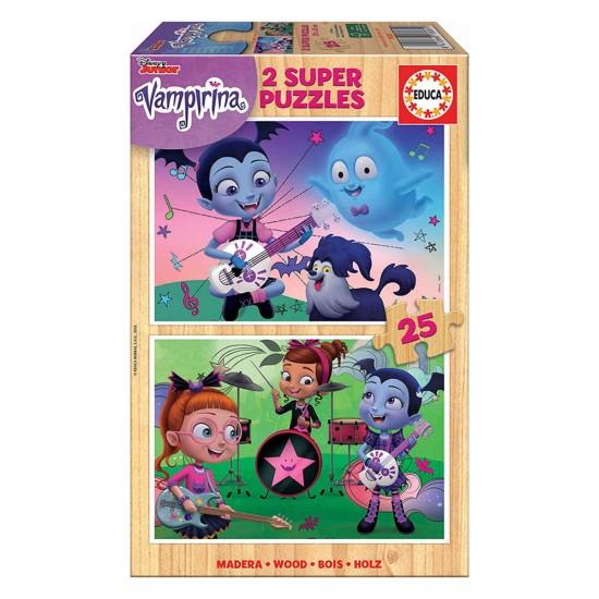 2x Super Puzzle 25 Madeira Vampirina