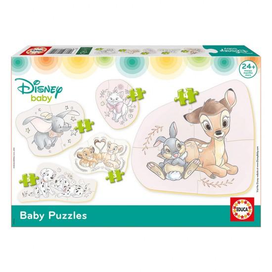 5 Baby Puzzles Disney Animais