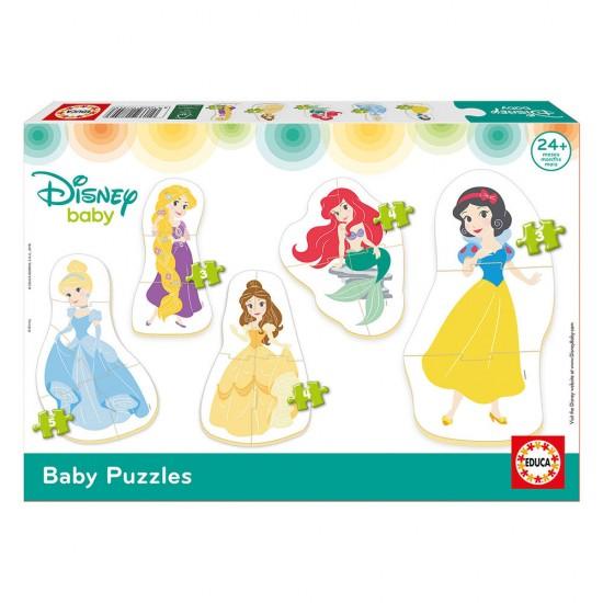 5 Baby Puzzles Disney Princess