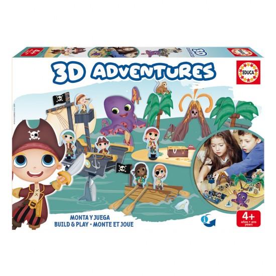 Educa 3D Adventures Piratas