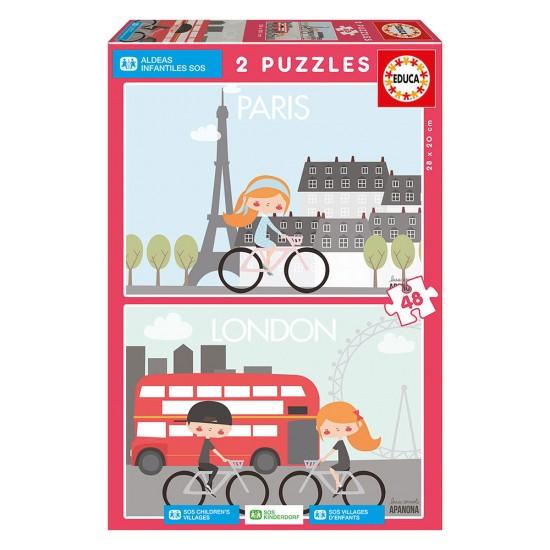 Educa SOS 2x48 Paris y Londres