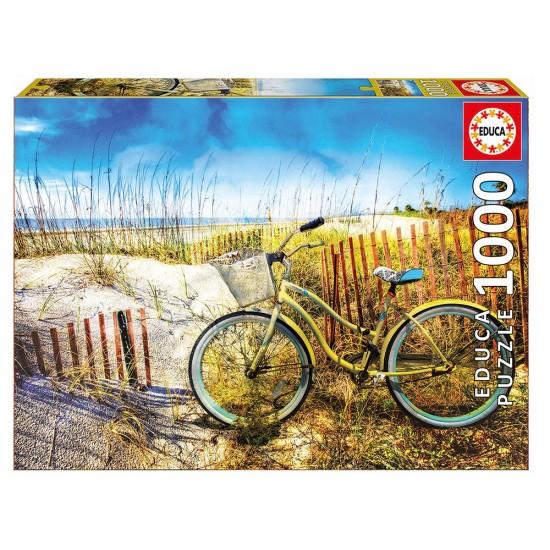 Puzzle 1000 Bicicleta no Campo