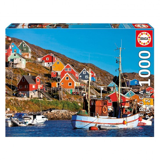 Puzzle 1000 Casas Nórdicas