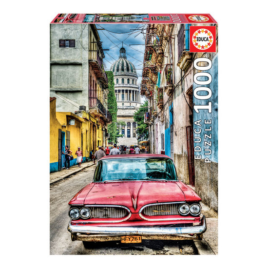 Puzzle 1000 Carro Antigo Havana