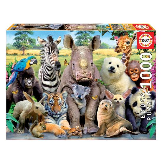 Puzzle 1000 A Foto da Turma