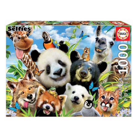 Puzzle 1000 Llama Drama Selfie