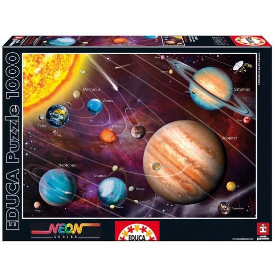 Puzzle 1000 Neon Sistema Solar