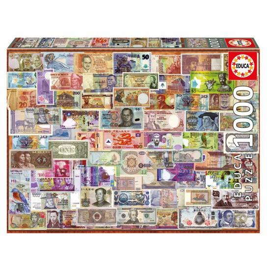 Puzzle 1000 Notas del Mundo
