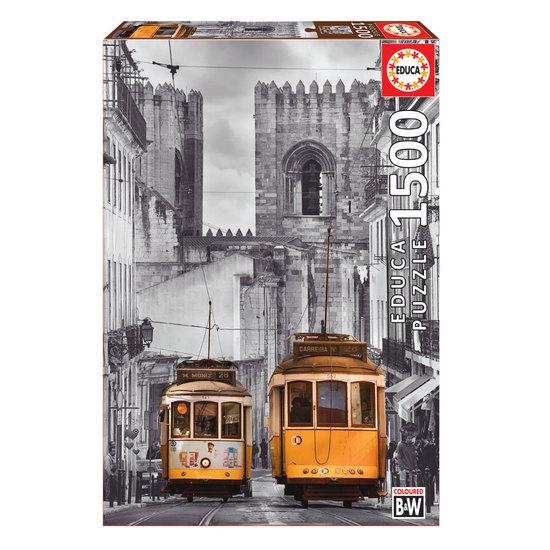 Puzzle 1500 Barrio de La Alfama, Lisboa