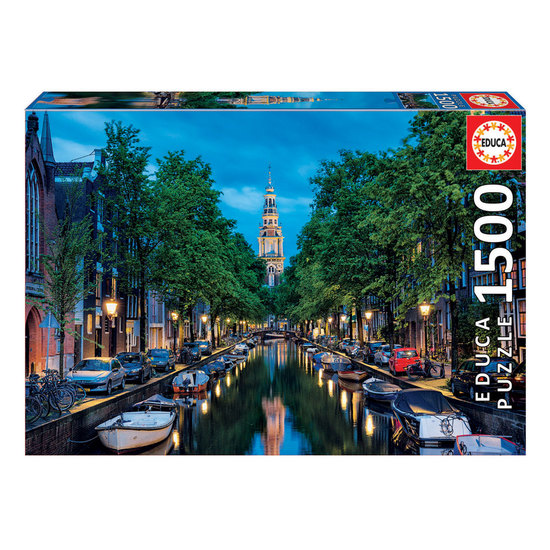 Puzzle 1500 Canal de Amesterdão