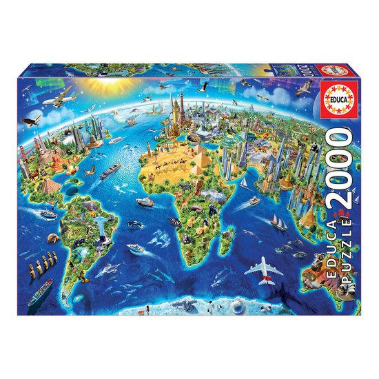 Puzzle 2000 Símbolos do Mundo