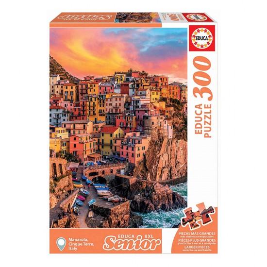 Puzzle 300 XXL Manarola, Cinque Terre, Itália