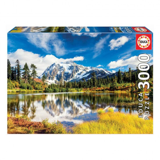 Puzzle 3000 Monte Shuksan, Washington, Eua