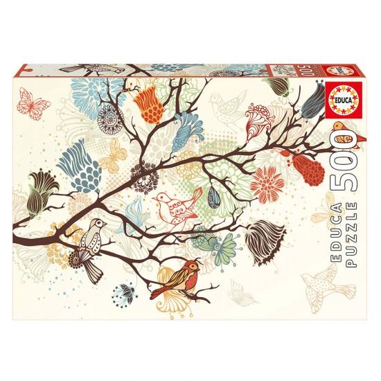 Puzzle 500 Composição Floral