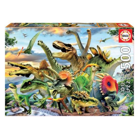 Puzzle 500 Dinossauros