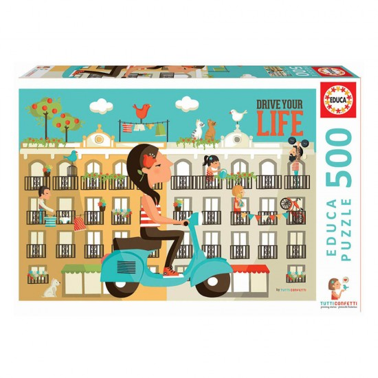 Puzzle 500 Drive your Life