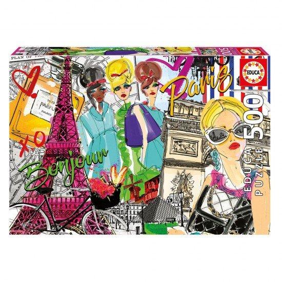 Puzzle 500 Llévame a París