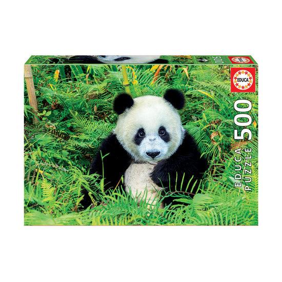 Puzzle 500 Urso Panda