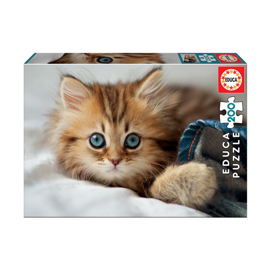 Puzzle Junior 200 Gatito