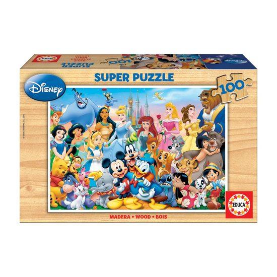 Super Puzzle Madeira 100 Disney