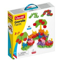 Quercetti Georello Creativity Game Farm 60 pieces