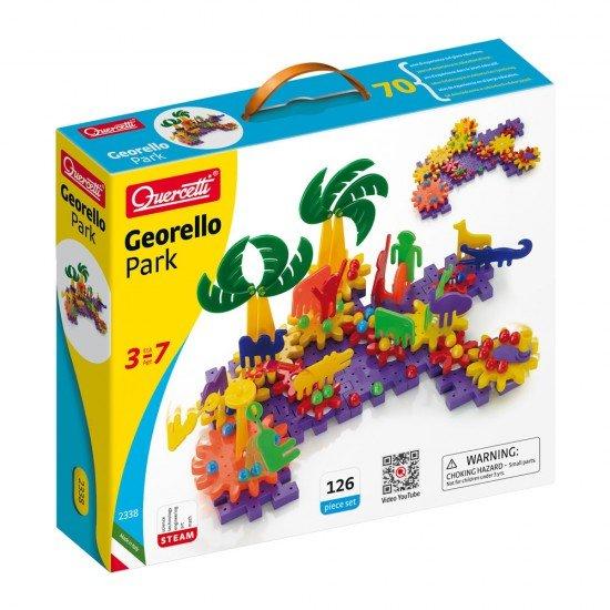Quercetti Juego de Creatividad Georello Parque 126 piezas