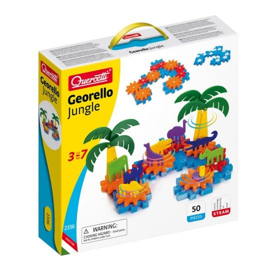 Quercetti Juego de Creatividad Georello Selva 50 piezas