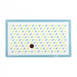 Babymoov anti-slip bath mat with thermometer, frog design