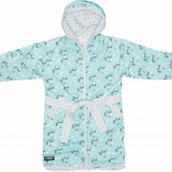 Luma Bathrobe Racoon Mint - LU01617